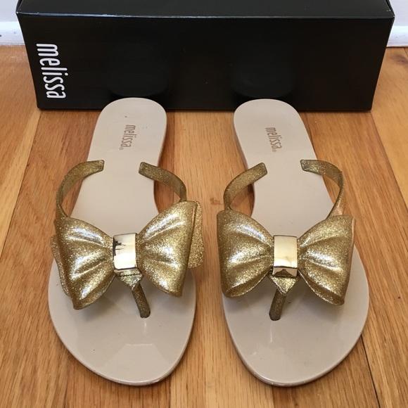 4ccd2851b MELISSA Harmonic XIII Sparkly Flip Flop Sandals